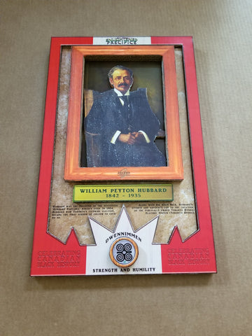 ENLIGHTENED PRECIPICE 3D BLACK HISTORY (CANADA): William Hubbard 3D Special Edition Poster