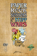 Load image into Gallery viewer, PAPER ROCK SCISSORS N' STUFF WARS #3 (DANIEL WONG PENCIL SKETCH VARIANT)