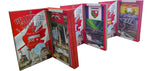 BEAUTIFUL CANADA SERIES: ALL 13 Provinces and Territories 3D limited poster-booklets 1/50
