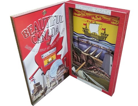 BEAUTIFUL CANADA SERIES: NEW BRUNSWICK 3D limited edition poster-booklet 1/50 Canada Day