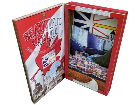 BEAUTIFUL CANADA SERIES: NEWFOUNDLAND LABRADOR 3D limited poster-booklet 1/50 Canada Day
