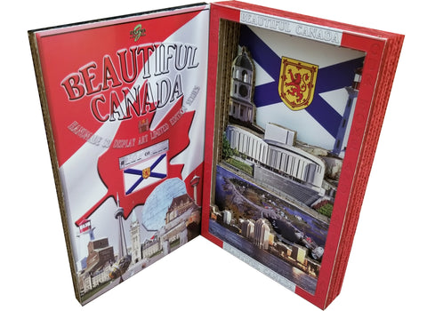 BEAUTIFUL CANADA SERIES: NOVA SCOTIA 3D limited edition poster-booklet 1/50 Canada Day