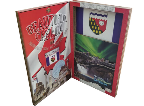 BEAUTIFUL CANADA SERIES: NORTHWEST TERRITORIES 3D limited edition poster-booklet 1/50 Canada Day