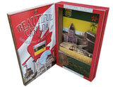 BEAUTIFUL CANADA SERIES: SASKATCHEWAN 3D limited edition poster-booklet 1/50 Canada Day