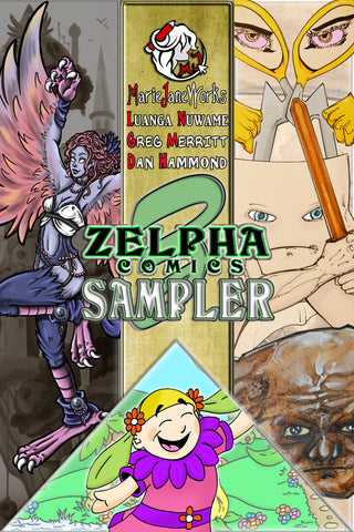 Zelpha Comics Sampler #1 (ONE-SHOT) 1ST APPEARANCE HARPY VARDITH