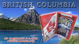 BEAUTIFUL CANADA SERIES: BRITISH COLUMBIA 3D limited poster-booklet 1/50 Canada Day Craft
