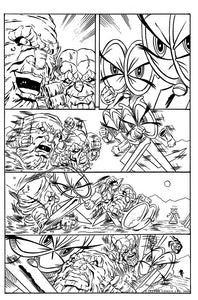 PAPER ROCK SCISSORS N' STUFF WARS #1 (ROOTH HULK 316 HOMAGE VARIANT)