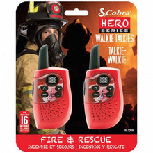 Load image into Gallery viewer, Walkie-Talkie Cobra PMR HM230 3 KM Red - a-m-kidz-korner