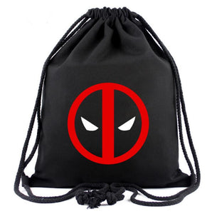 Cartoon Drawstring Backpack - a-m-kidz-korner