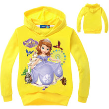Load image into Gallery viewer, Sofia Princess  Pink Hooded Sweatshirt - a-m-kidz-korner