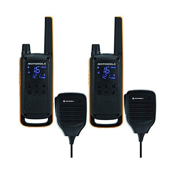 Walkie-Talkie Motorola T82 Extreme RSM (2 Pcs) Black Yellow - A&M Kidz Korner