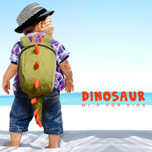 Load image into Gallery viewer, Kids Cartoon Dinosaur School Bags - a-m-kidz-korner