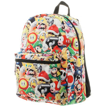Load image into Gallery viewer, Mario Light Up Backpack Super Mario Gift Mario Backpack - Super Mario Backpack Mario Accessory - a-m-kidz-korner