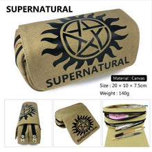 Load image into Gallery viewer, Supernatural  Canvas Pencil Bags - A&M Kidz Korner