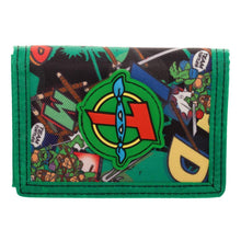 Load image into Gallery viewer, Teenage Mutant Ninja Turtle Wallet TMNT Gift TMNT Accessories Teenage Mutant Ninja Turtles Gift TMNT Wallet - a-m-kidz-korner
