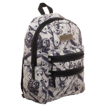 Load image into Gallery viewer, Harry Potter Beasts Double Zip Backpack  Officially Licensed Harry Potter Backpack - a-m-kidz-korner