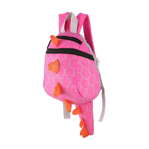 Kids Cartoon Dinosaur School Bags - a-m-kidz-korner