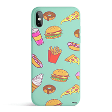 Load image into Gallery viewer, Fast Food - Colored Candy Cases Matte TPU iPhone - a-m-kidz-korner