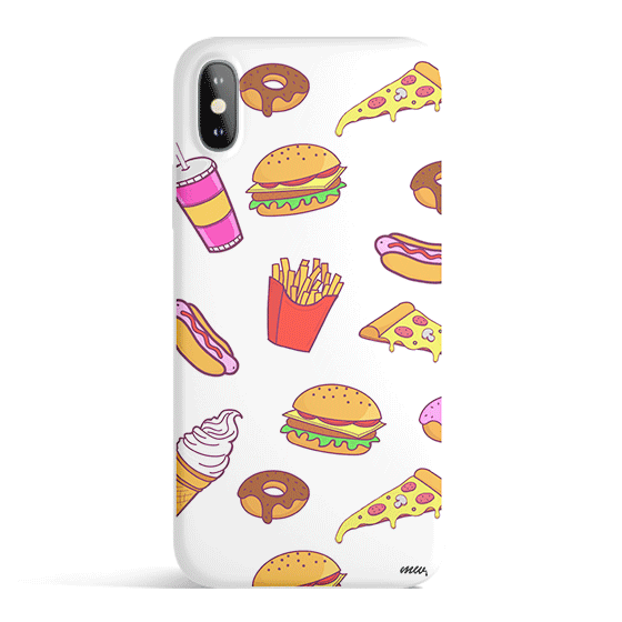 Fast Food - Colored Candy Cases Matte TPU iPhone - a-m-kidz-korner