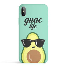 Load image into Gallery viewer, Guac Life - Colored Candy Cases Matte TPU iPhone - A&M Kidz Korner