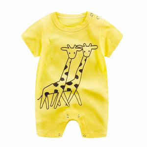 Newborn Infant Baby Boy Girl Clothes Cartoon - A&M Kidz Korner