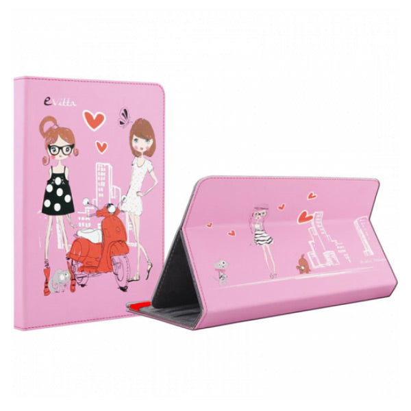 Tablet cover E-Vitta FASHION GIRLS 9.7''''-10.1'''' Pink - a-m-kidz-korner