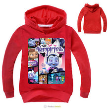 Load image into Gallery viewer, Vampirina Sweatshirts - Long Sleeve Hoodies 2-12Y - a-m-kidz-korner