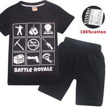 Load image into Gallery viewer, Youth Fortnite Battle Royal Pajamas - A&M Kidz Korner