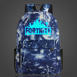 Fortnite- Waterproof-Glow in the Dark  Backpack - a-m-kidz-korner