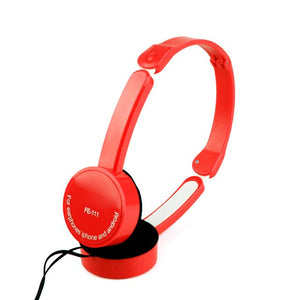 Foldable Stereo Headset -Noise Cancelling Headset With Wire Control - A&M Kidz Korner
