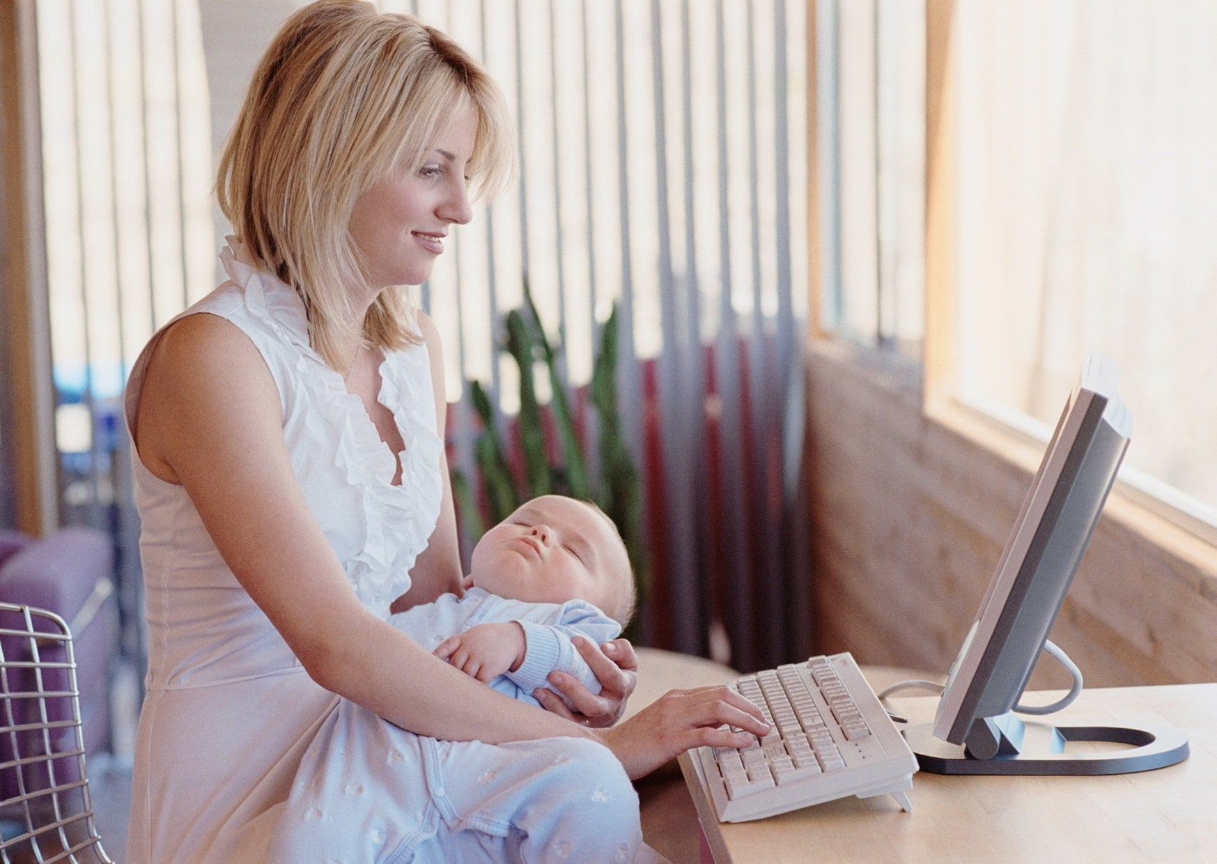 How to Work from Home with your Toddler or Baby