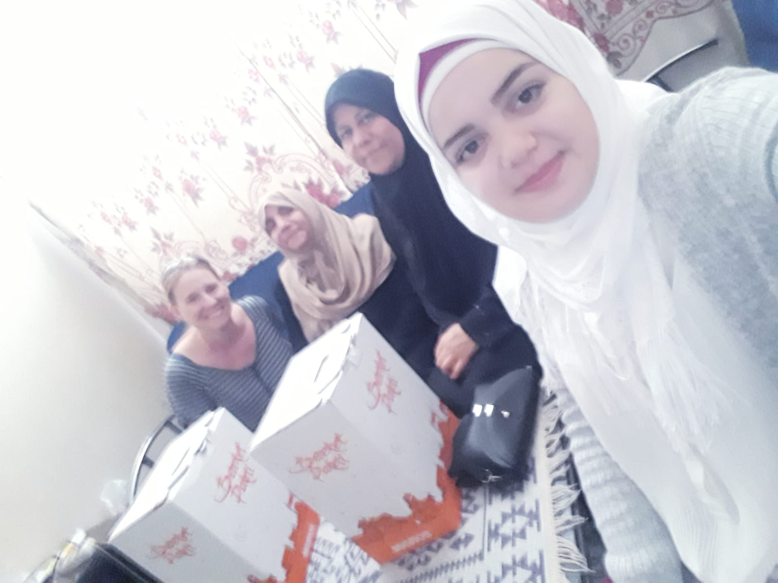Delivering Ramadan care packages - World Hunger Day