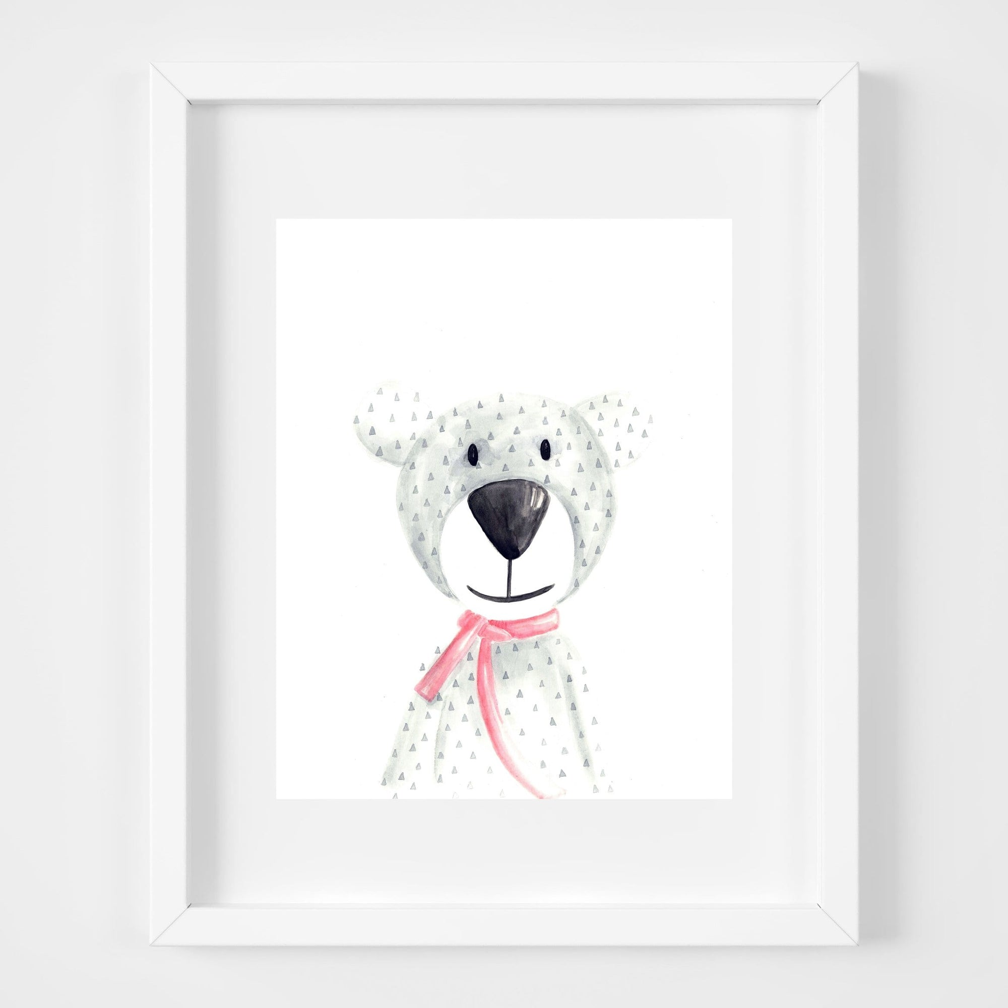 bebemoss.com Atty the bear print handmade by moms  gifts with purpose