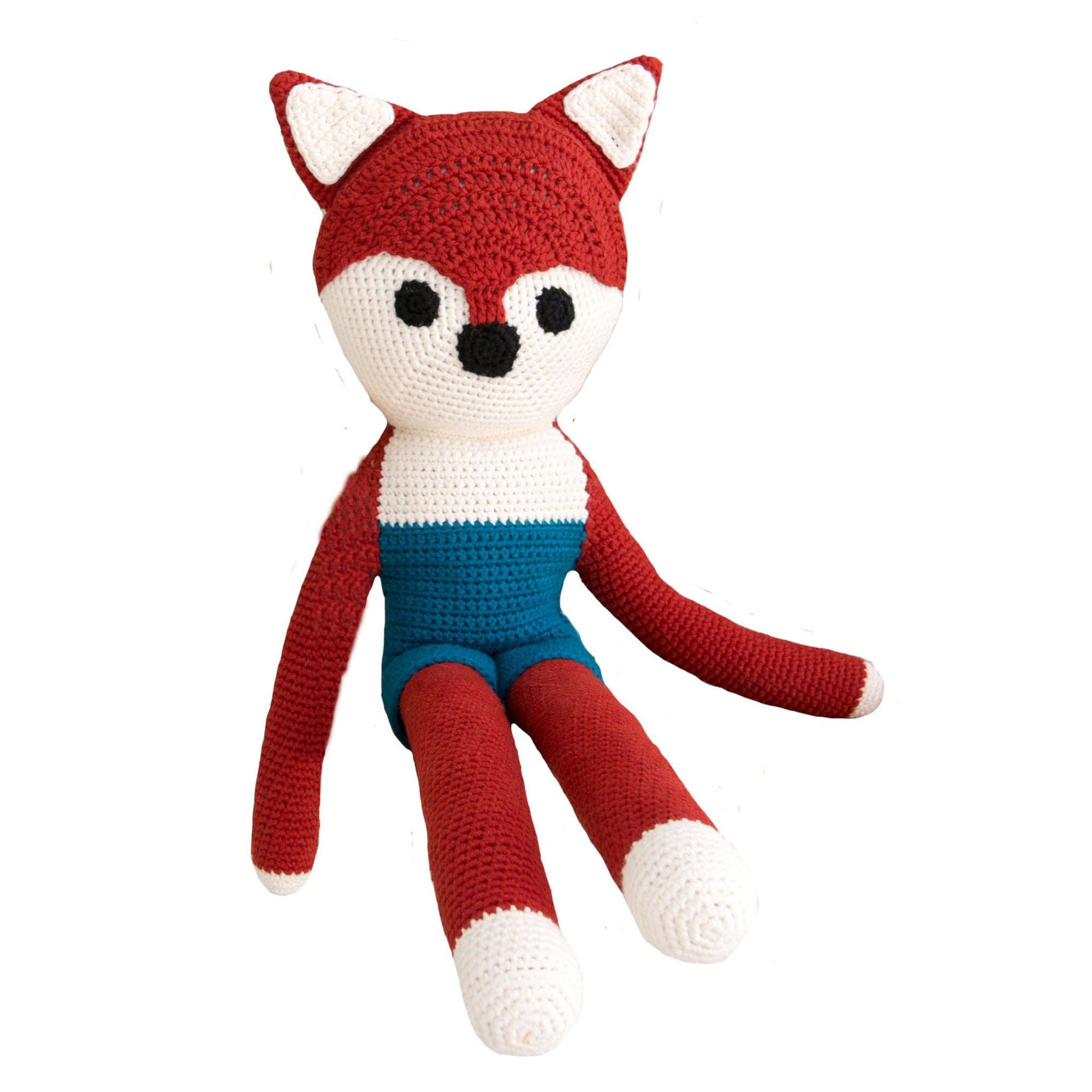 bebemoss.com toy Big friend fox handmade by moms  gifts with purpose