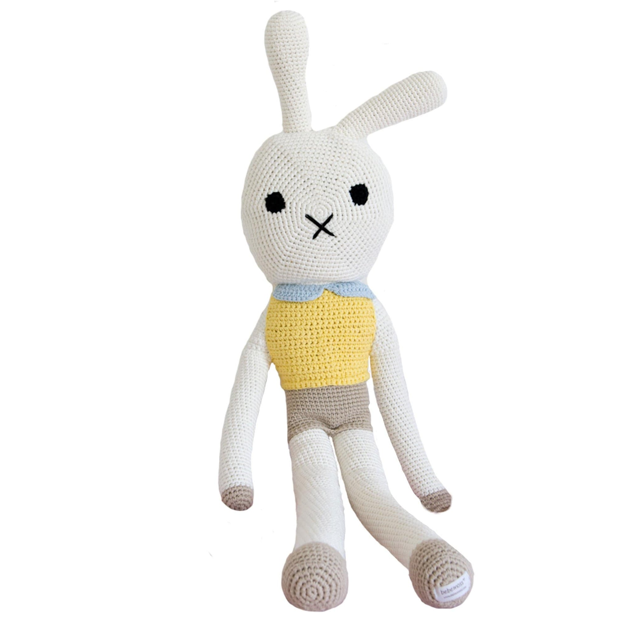 bebemoss.com toy Big friend rabbit handmade by moms  gifts with purpose