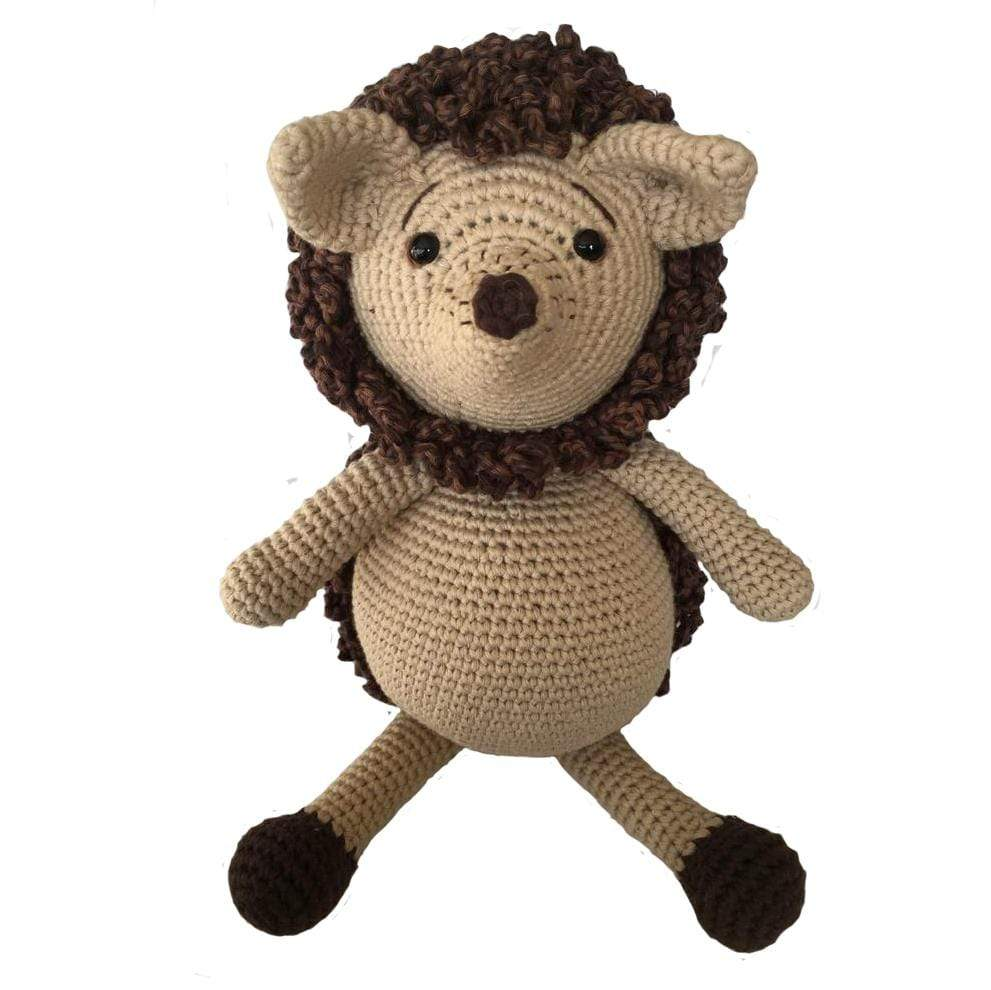 bebemoss.com toy Hubert the hedgehog handmade by moms  gifts with purpose