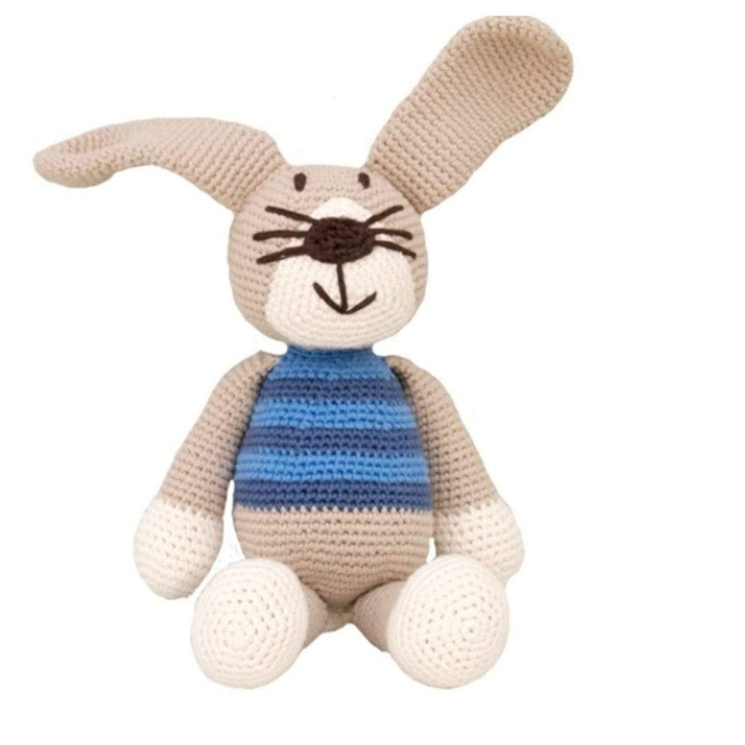 bebemoss.com stuffed animal Peter the rabbit handmade by moms  gifts with purpose