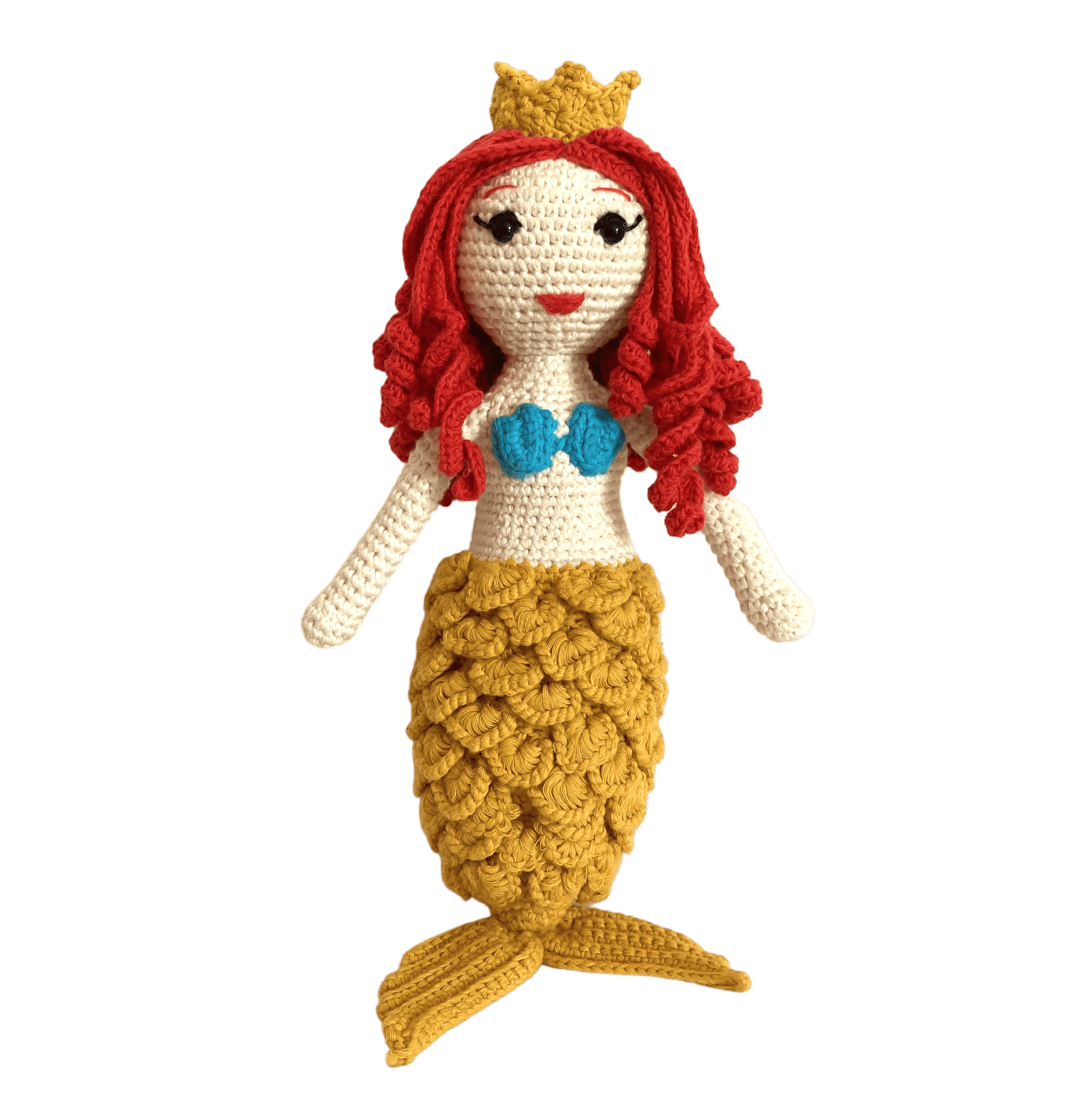 bebemoss.com stuffed animal PREORDER Azalea the Mermaid handmade by moms  gifts with purpose