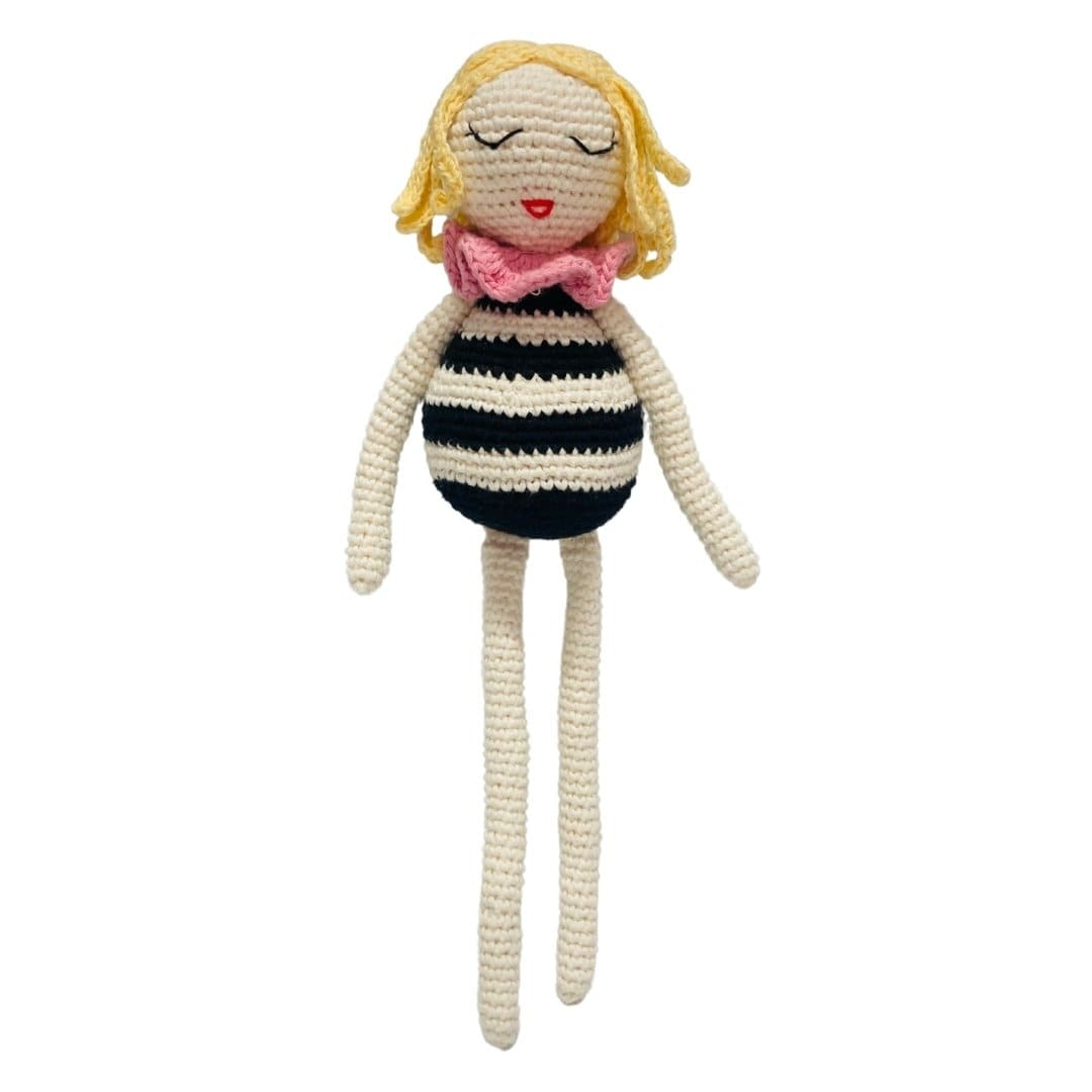 bebemoss.com stuffed animal PREORDER Carly the doll handmade by moms  gifts with purpose