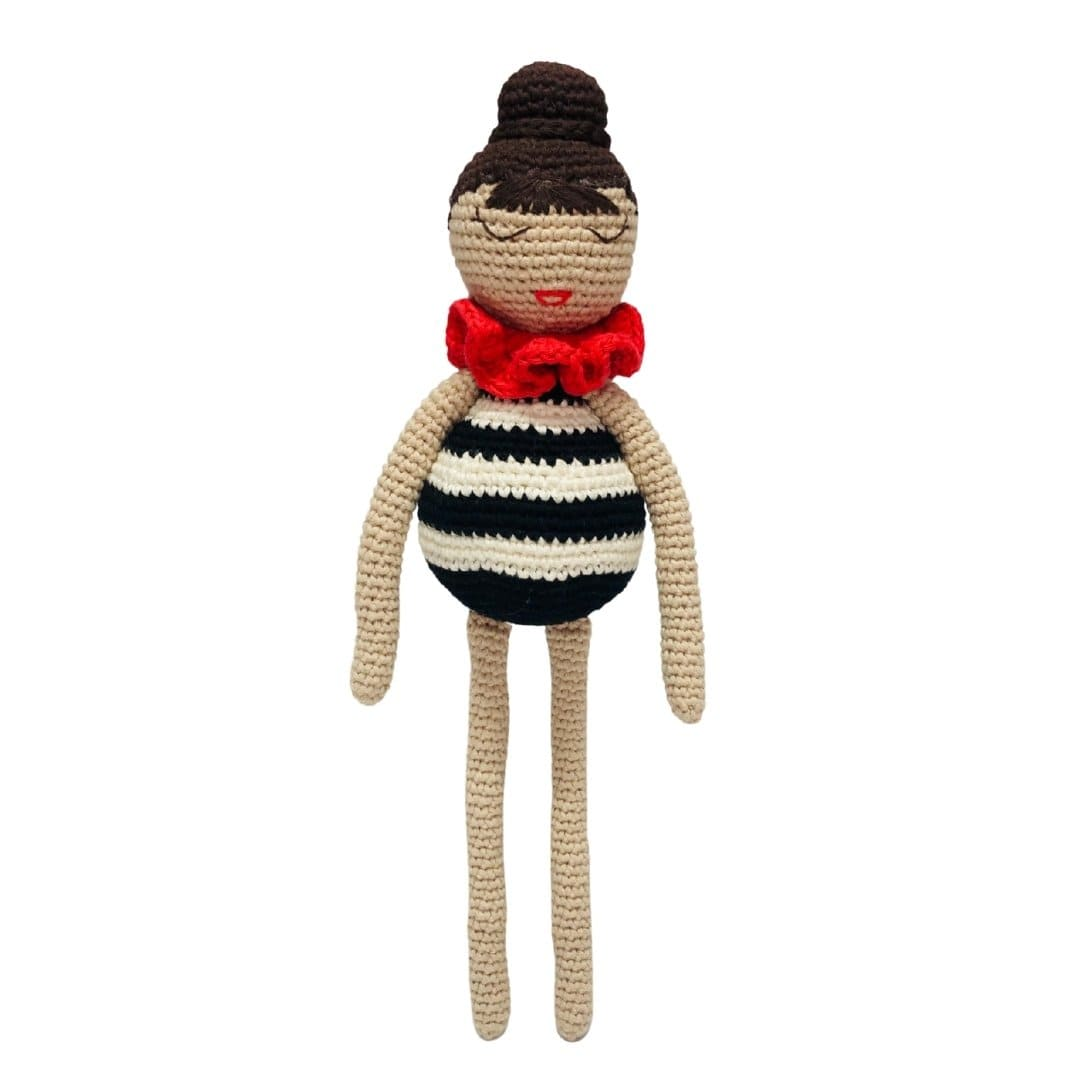 bebemoss.com stuffed animal PREORDER Jasmin the doll handmade by moms  gifts with purpose