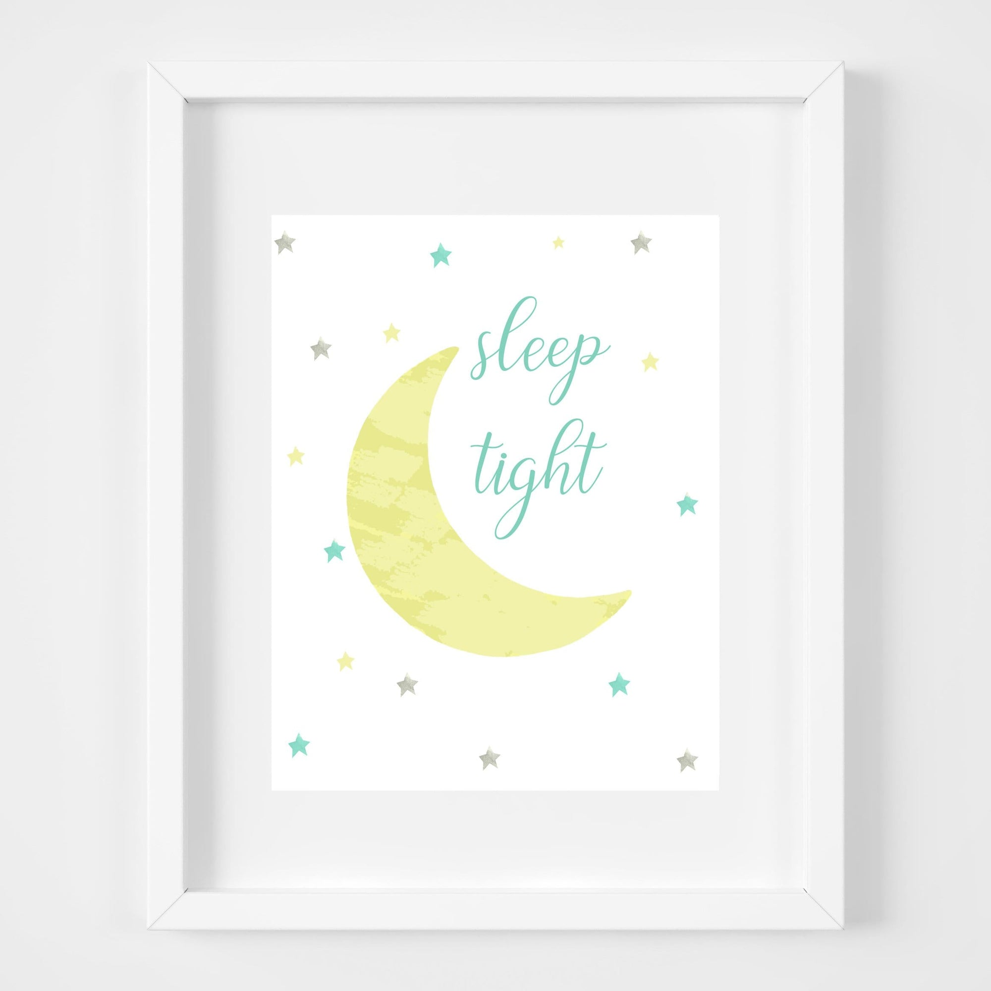 bebemoss.com Sleep tight print handmade by moms  gifts with purpose