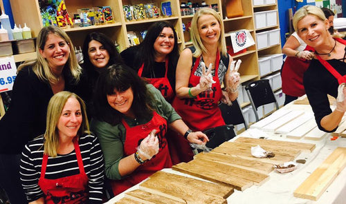 Private -  BYOB Wood Board Workshop - Pick Your Project - Delray- March 12th @ 7:30pm