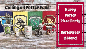 March 9th @ 6 & 7pm  Harry Potter Pizza Painting Party ! - Deerfield
