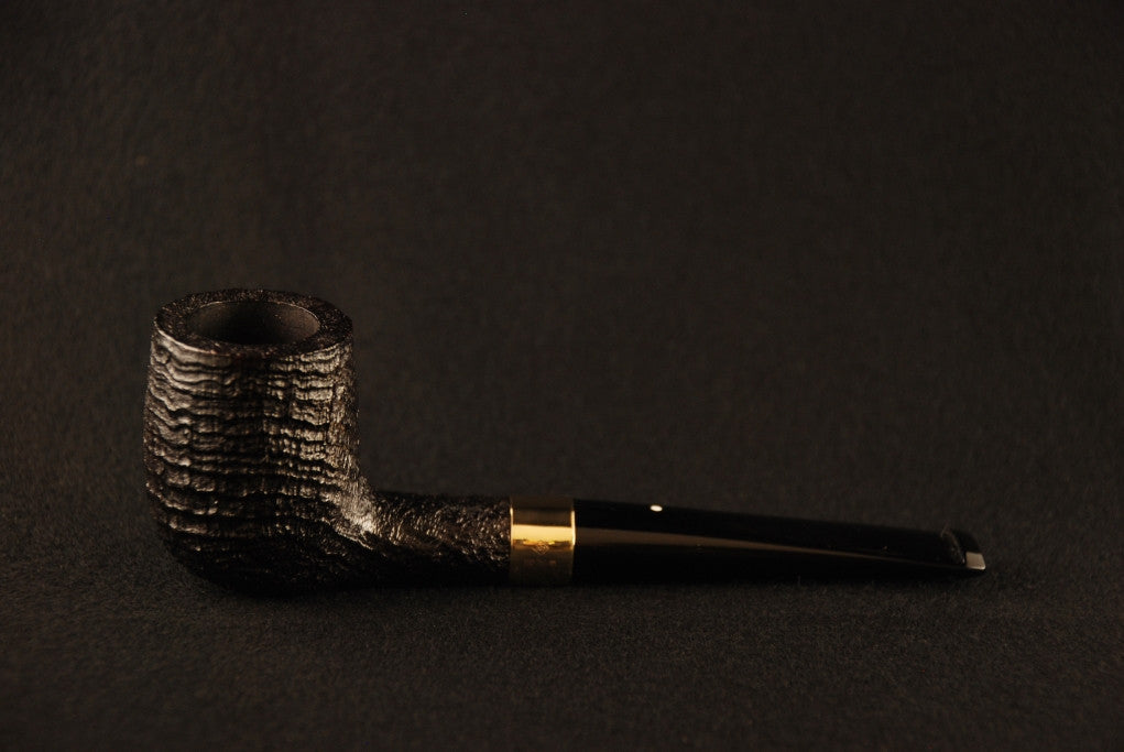 Dunhill Shell Briar Billiard Gold Band - 3103
