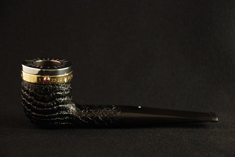Dunhill Longitude Pipe 806 of 2000 Limited Edition 2000 Shell Briar Billiard - 5103