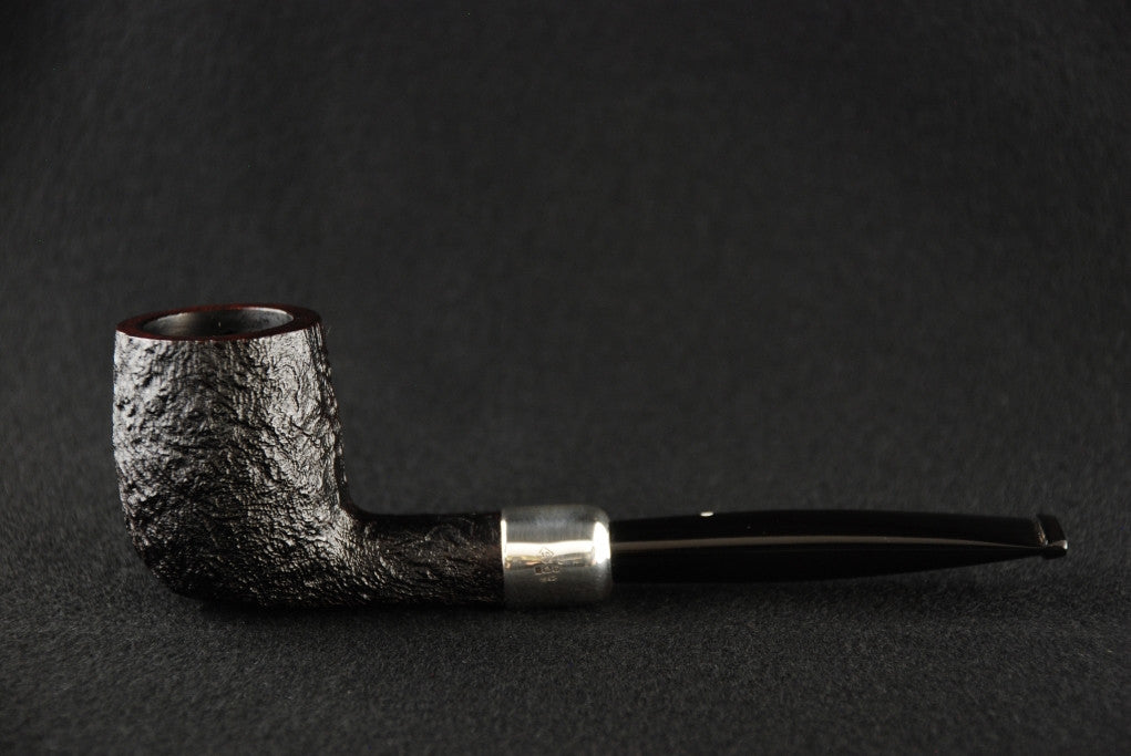 Dunhill Shell Briar Billiard 2103 Silver Army Mount D/S/2FA