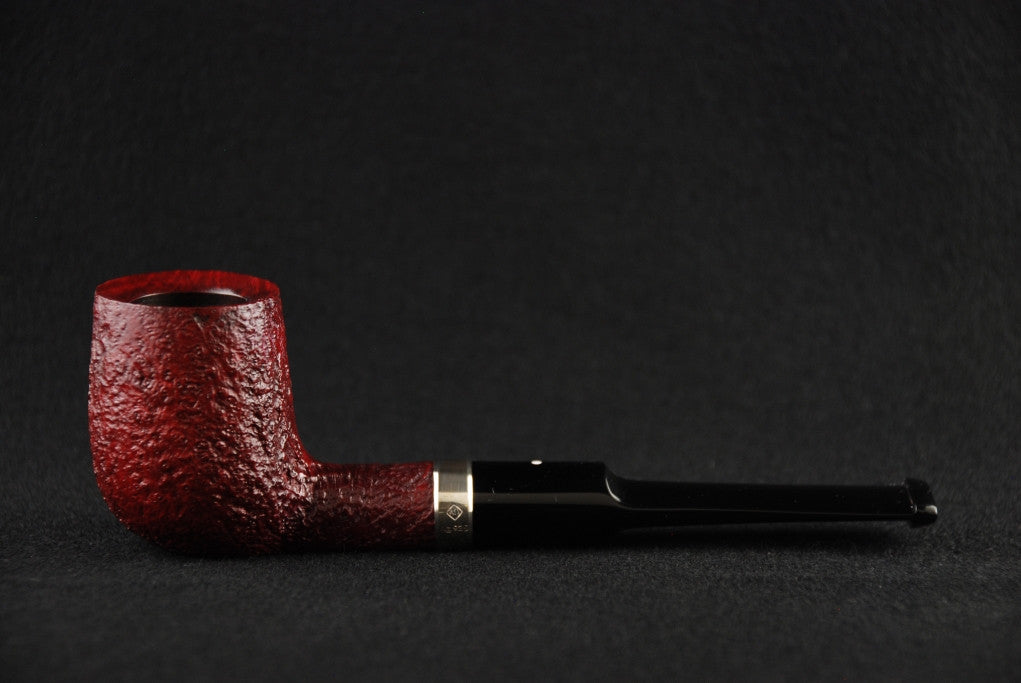 Dunhill Rubybark Billiard 3203 Silver band D/RB/3/3