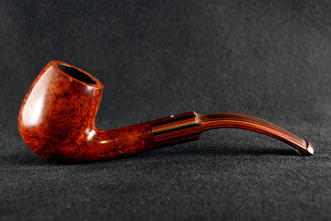 Dunhill Amber Root Bent 3202