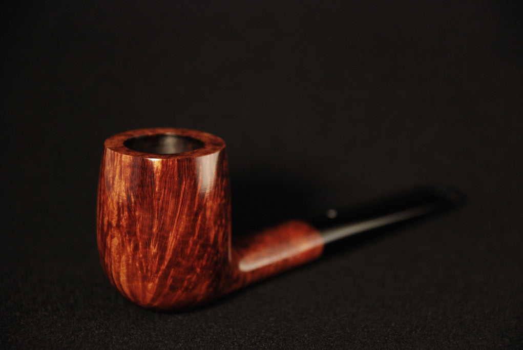 Dunhill Amber Root Billiard - 2 Fiamme
