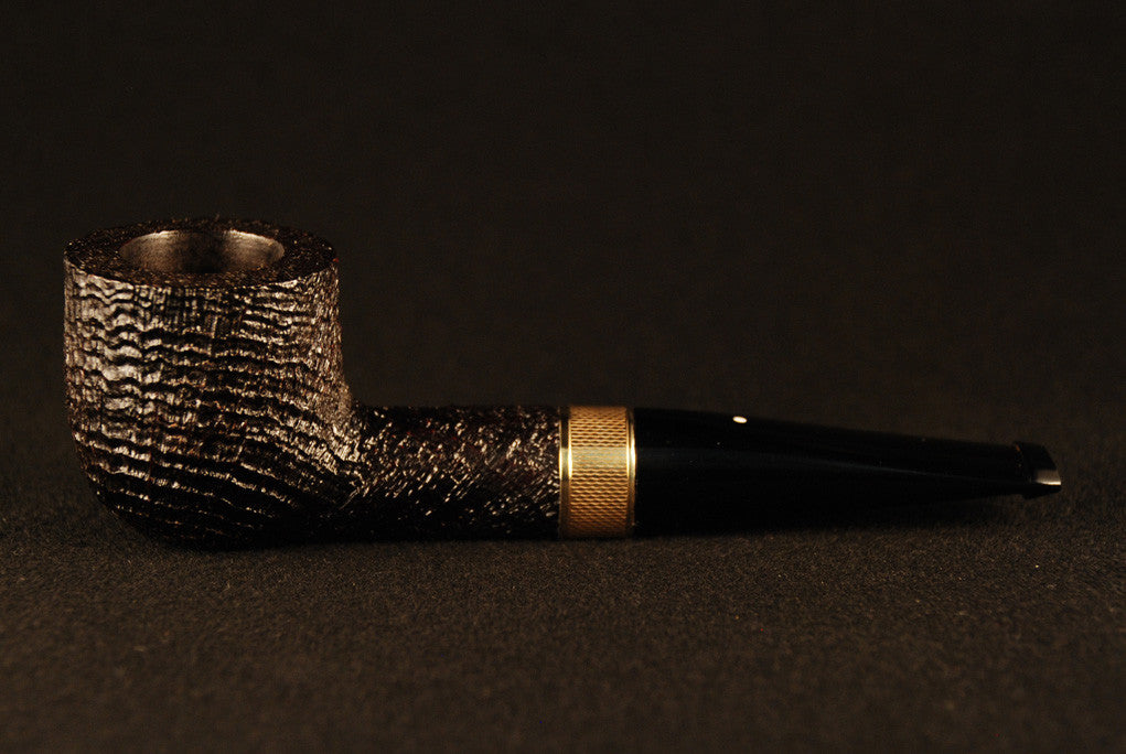 Dunhill Ring Grain Pot 4106 Gold Band - Vera oro